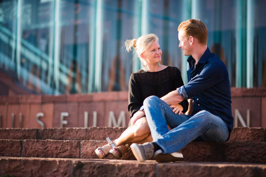 Verlovings shoot voor Laura & Kristof