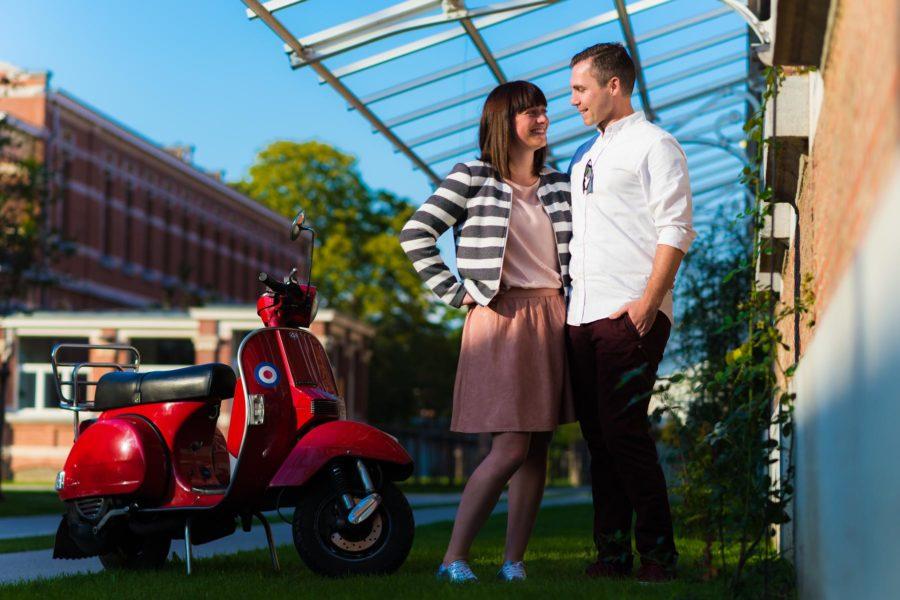 Verlovings shoot voor Mik & Dieter
