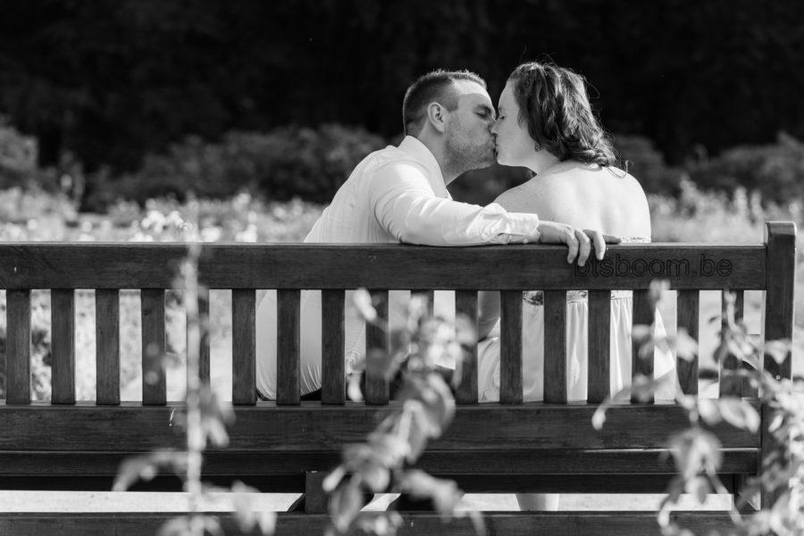 Verlovings shoot voor Silke & Nicky