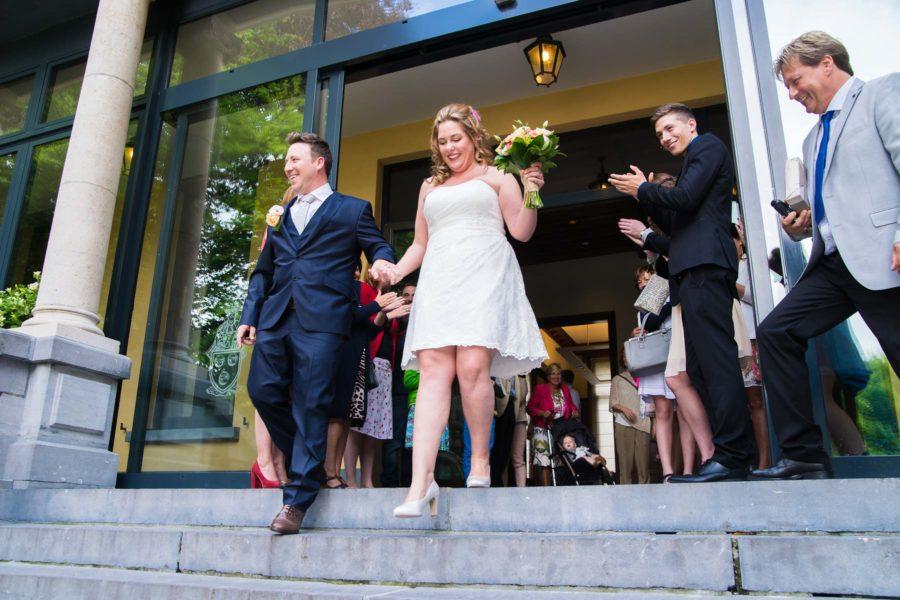 Huwelijksfotograaf te Kapellen voor Pamela & Kris