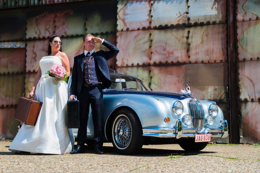 Huwelijksfotograaf Antwerpen voor Kim & Andy