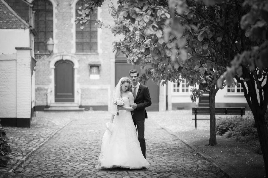 Huwelijksfotograaf in Lier voor Julie & Thomas