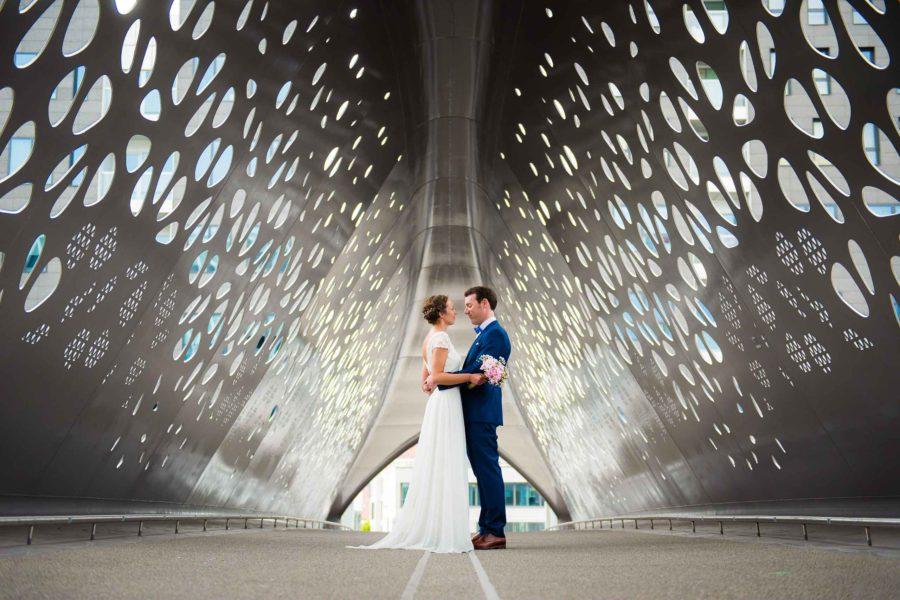 Huwelijksfotograaf Antwerpen voor Evi en Mathias